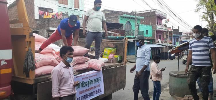 जामे मस्जिदद्वारा एक लाख बढिको खाद्यान्न सहयोग