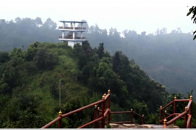 छिल्लीकोटमा भ्यू टावर