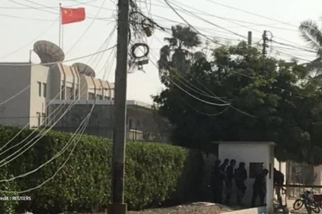 पाकिस्तानस्थित चिनियाँ दूतावासमा आक्रमण, दुई सुरक्षाकर्मीको मृत्यु